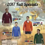 Fall 2017 Mix or Match Specials