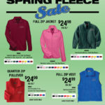 2018 Annual Spring Fleece Sale